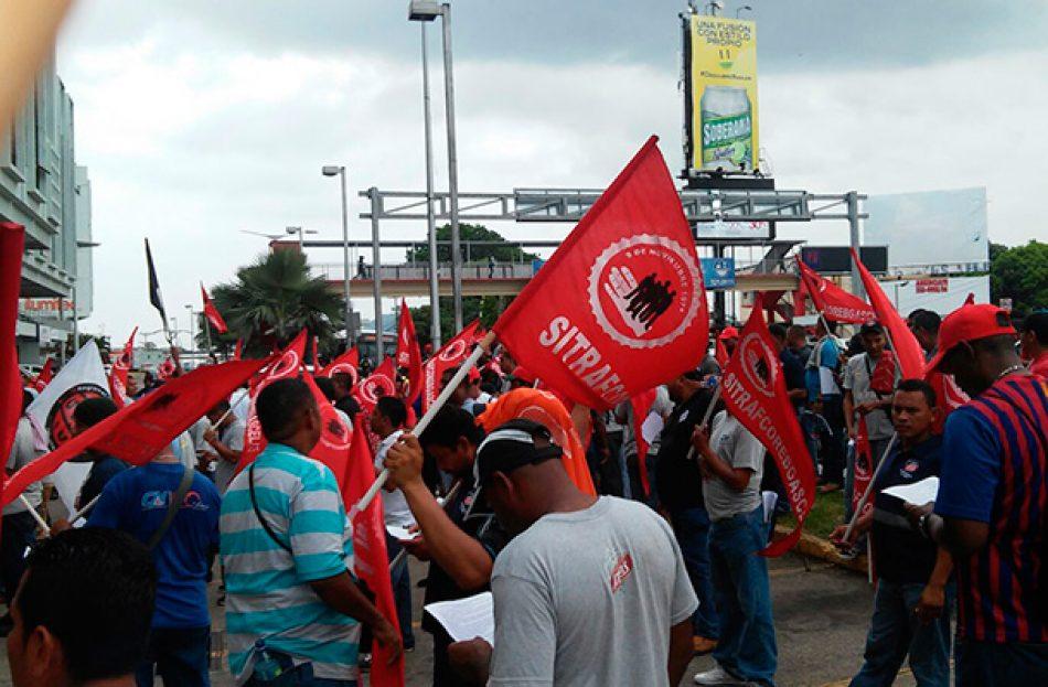 "Panamá ""Siete días de huelga en Cervecería Nacional y seguimos luchando…"""