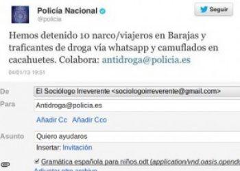 La policía necesita nuestra colaboración