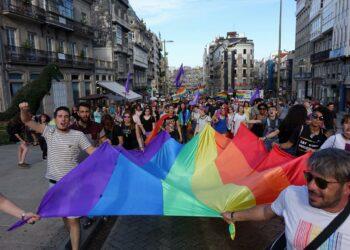 El colectivo LGTBI celebra en Vigo el Orgullo con reivindicación