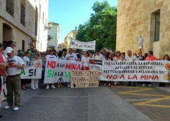 EQUO apoya a los activistas de STOP Uranio amenazados por Berkeley en Salamanca
