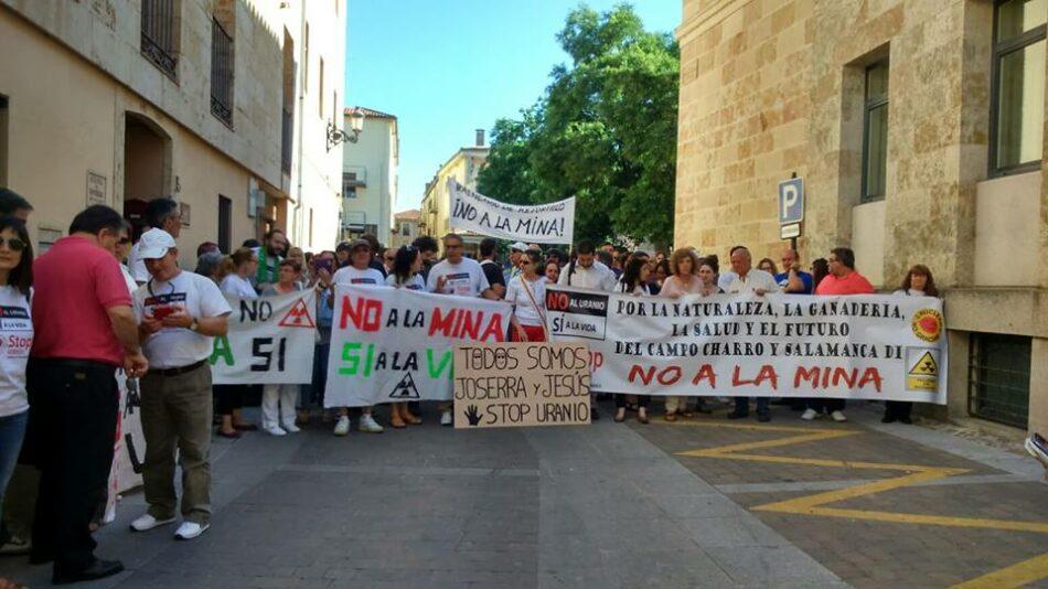 Presión inaceptable sobre activistas contra la minería de uranio de Salamanca