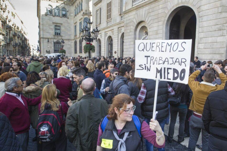 Cerca de 2.000 mujeres y hombres del mundo del trabajo respaldan con su firma el «manifiesto de la red de sindicalistas en apoyo a Unidos Podemos»