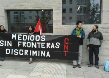 CNT pide el cese de la responsable de Médicos Sin Fronteras