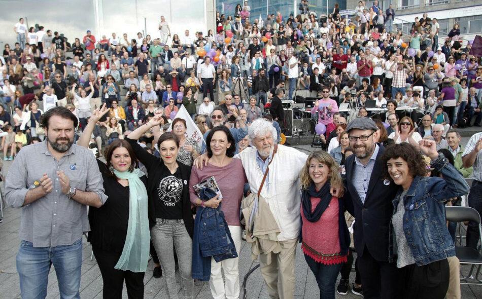 """Alexandra Fernández: """"Imos darlle a volta ás políticas da Troika para saír da crise e recuperar os nosos dereitos"""
