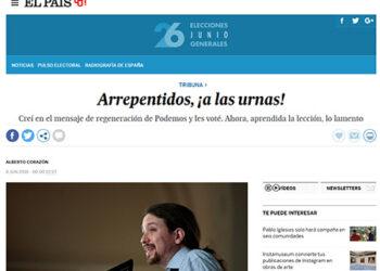 El País censura la revuelta popular en Francia