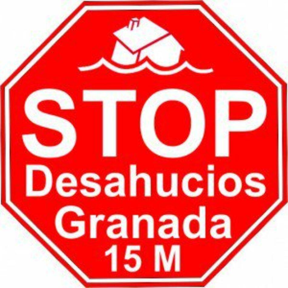 Stop Desahucios Granada 15M pedirá soluciones para familias