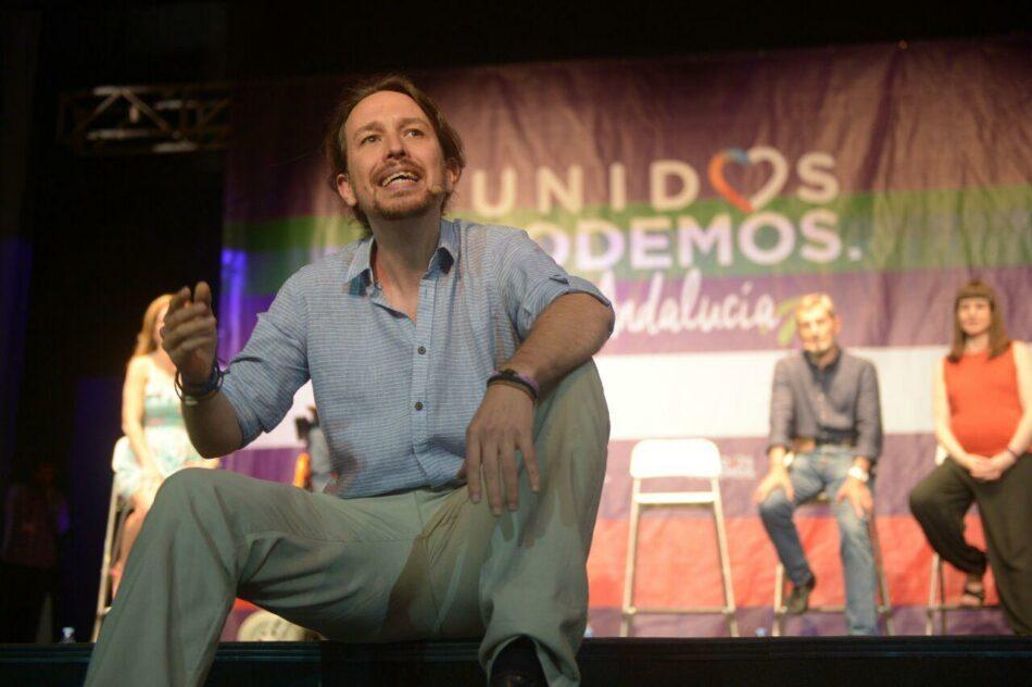 """Pablo Iglesias: """"El objetivo es ganar al Partido Popular"""""""