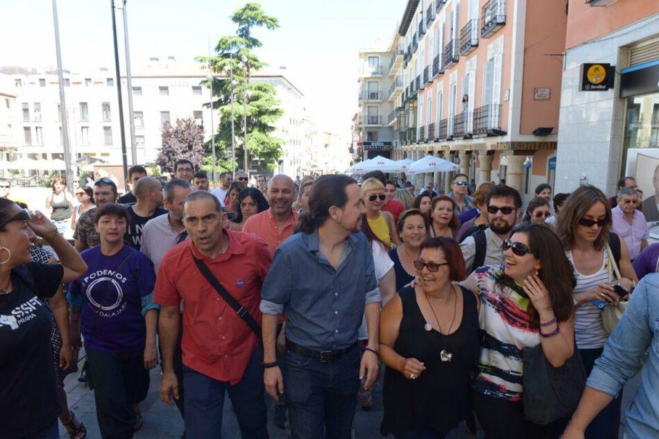 """Iglesias en Jerez: """"El mejor ejemplo de ser antisistema es utilizar Interior para perseguir a enemigos políticos"""""""