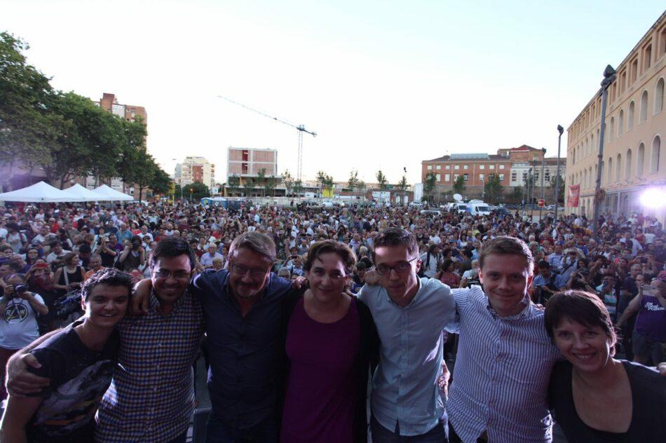 """Xavier Domènech demana el vot de tots els catalans """"sense importar què han votat abans"""" per fer fora al PP"""