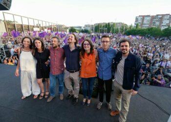 """Pablo Iglesias: """"Estamos escribiendo la historia, somos un instrumento en manos de la gente"""""""