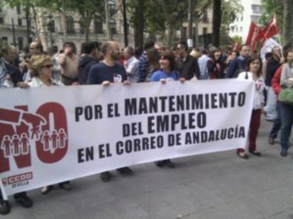 Repulsa a los despidos en «El Correo de Andalucía»