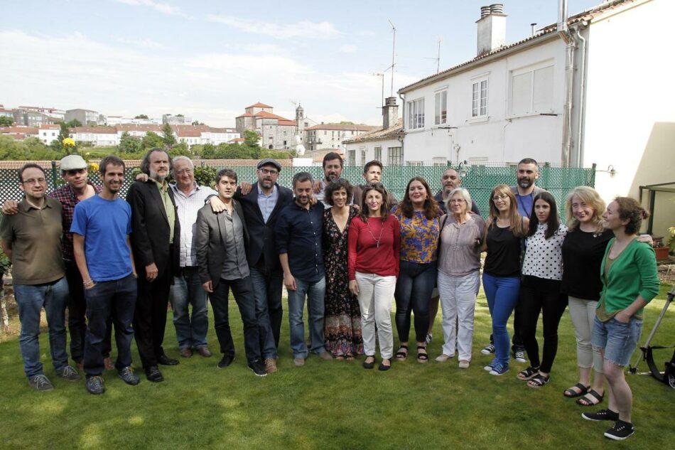 Os alcaldes do cambio piden o apoio a En Marea e confían en que será a lista máis votada en Galicia o 26X