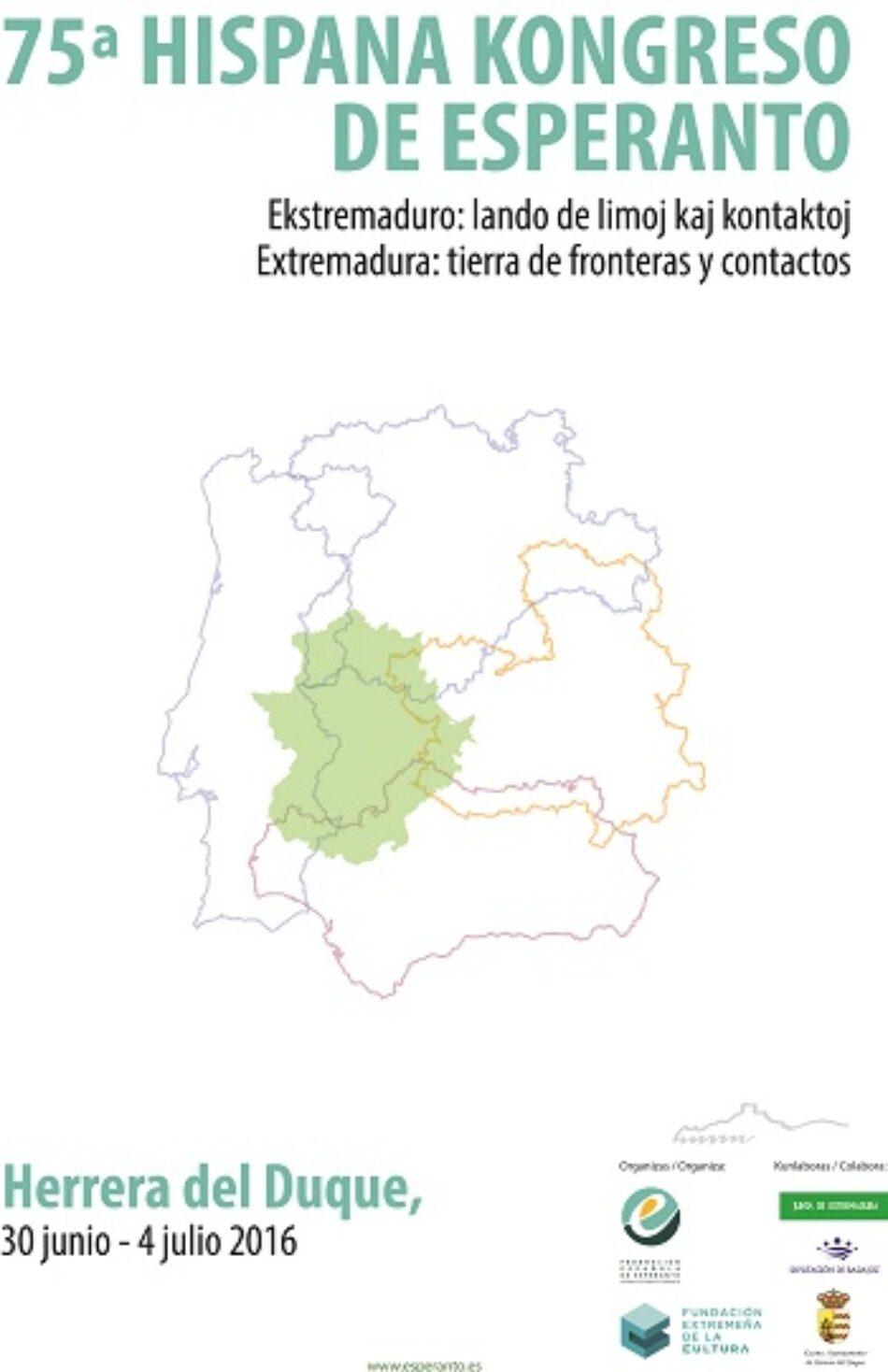 El Congreso Español de Esperanto, por segunda vez en Extremadura