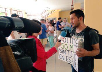 La Seguridad de Rajoy agrede al activista SinTecho