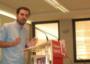 Garzón defiende el acuerdo electoral con Podemos y otras fuerzas como la «mejor opción» y apunta a que hay que «ampliar en el futuro su base social» tras los resultados del 26J