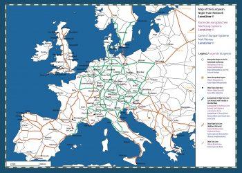 Por la recuperación y mantenimiento de los trenes nocturnos en Europa