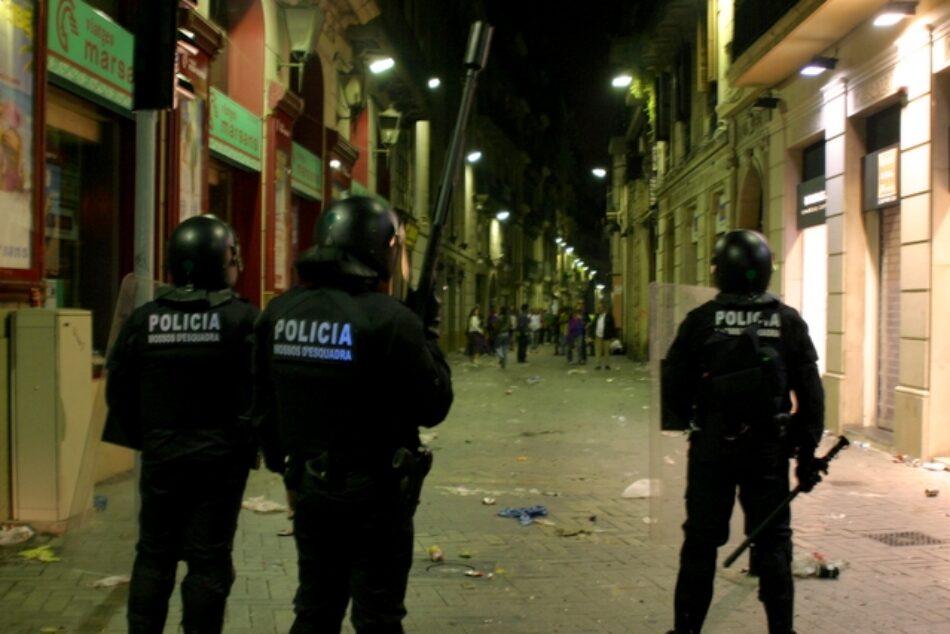 La policía catalana registra periodistas y elabora 'listas negras'