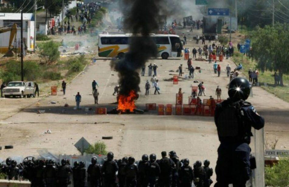 ALBA Movimientos condena al Gobierno Mexicano por la represión y asesinato de manifestantes en Oaxaca, exige justicia y garantías.