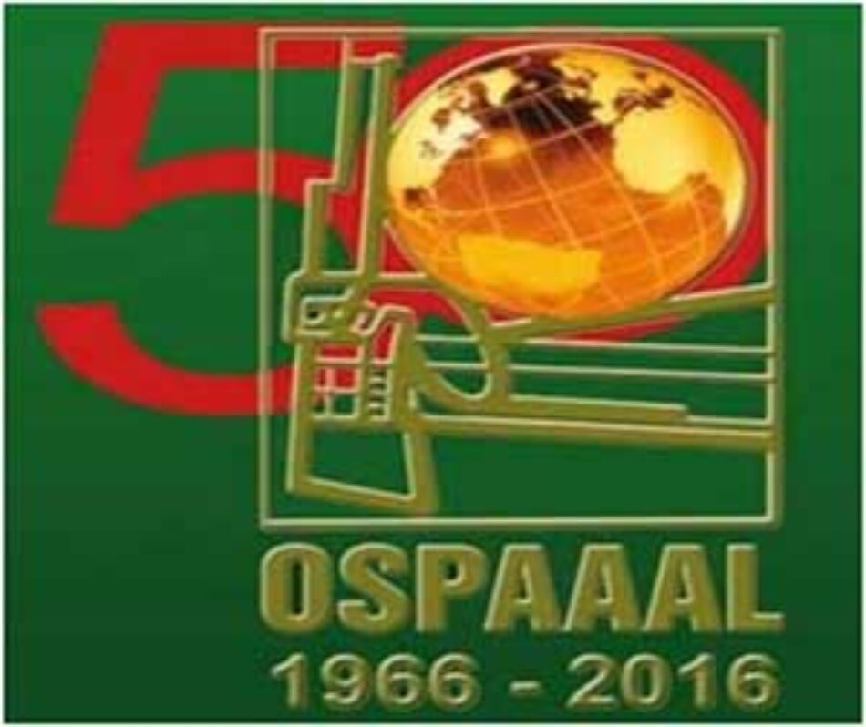 Foro de Sao Paulo reconoce 50 años de lucha de la Ospaaal