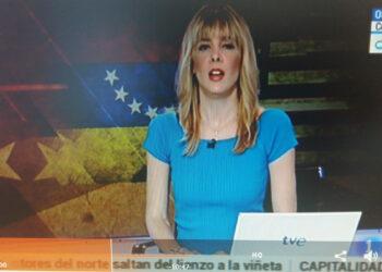 Gobierno venezolano ejerce enérgica protesta a Televisora española  por difundir bandera al revés durante su noticiero