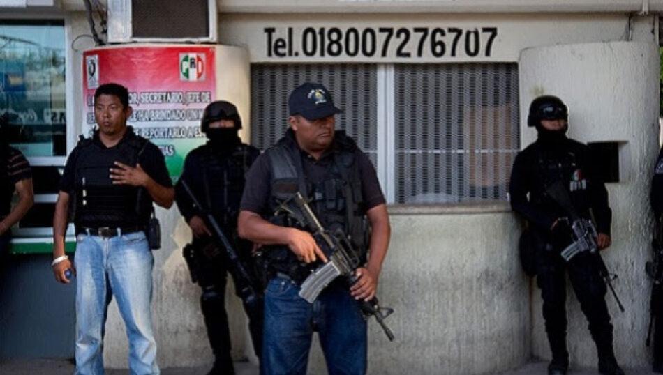 México: Hallan 4 cuerpos frente a local investigado en caso Ayotzinapa