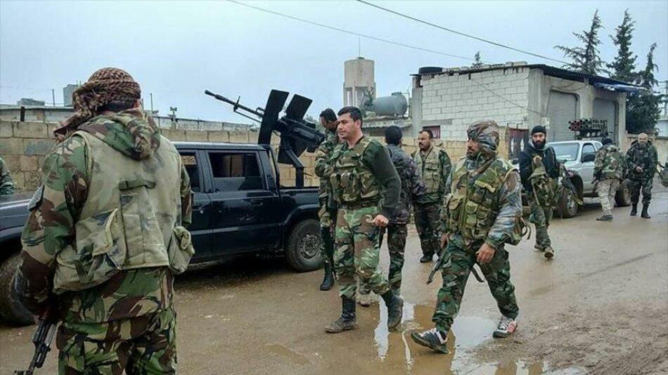 Ejército sirio defiende sus posiciones en una autopista estratégica en Alepo