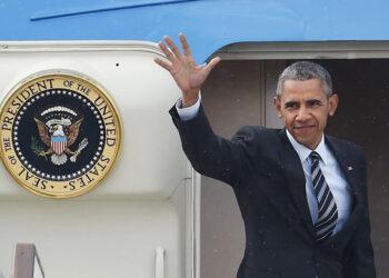 Pablo Iglesias se reúne con el presidente de EEUU, Barack Obama