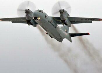 Desaparece de radar un avión militar indio con 29 personas a bordo