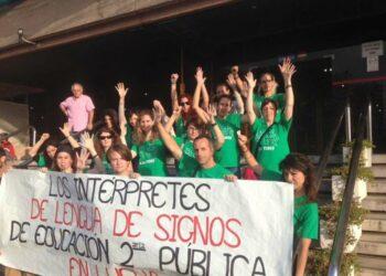 """Diputación  pide a la Junta que """"desprivatice"""" el servicio de interpretación de lengua de signos en la educación pública"""