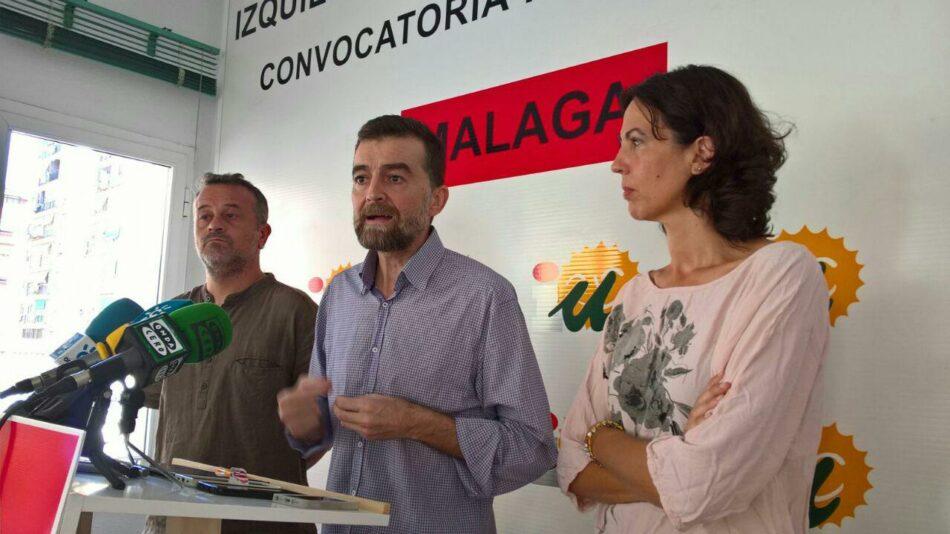 """Izquierda Unida califica la bajada del impuesto de Sucesiones en Andalucía como """"un regalo fiscal a una minoría"""""""