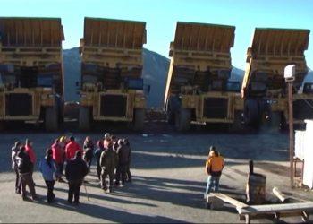 Podemos recibe en el Congreso a los mineros de Astur Leonesa