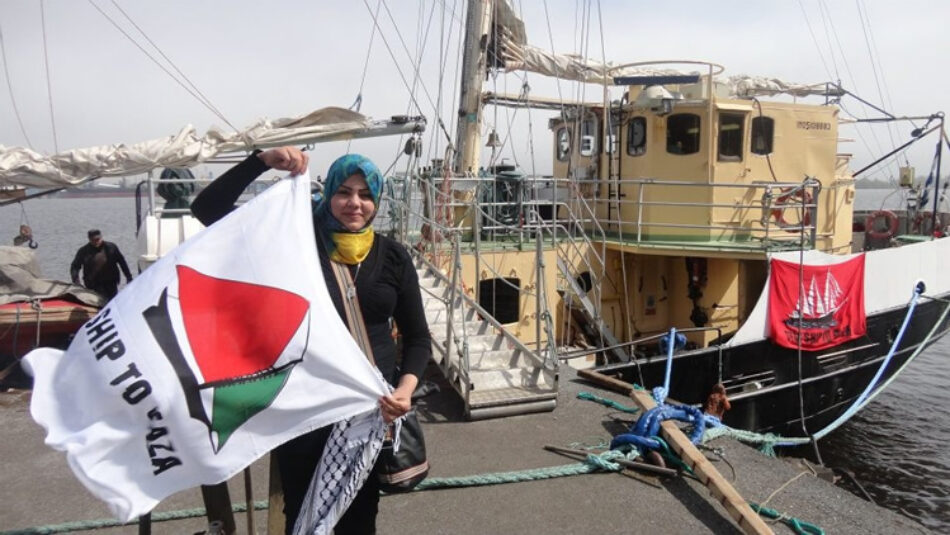 Barcelona acogerá la salida de la flotilla de Mujeres Rumbo a Gaza
