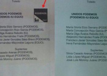 La JEP de Toledo, da por validos los votos nulos de Unidos Podemos, del 26J