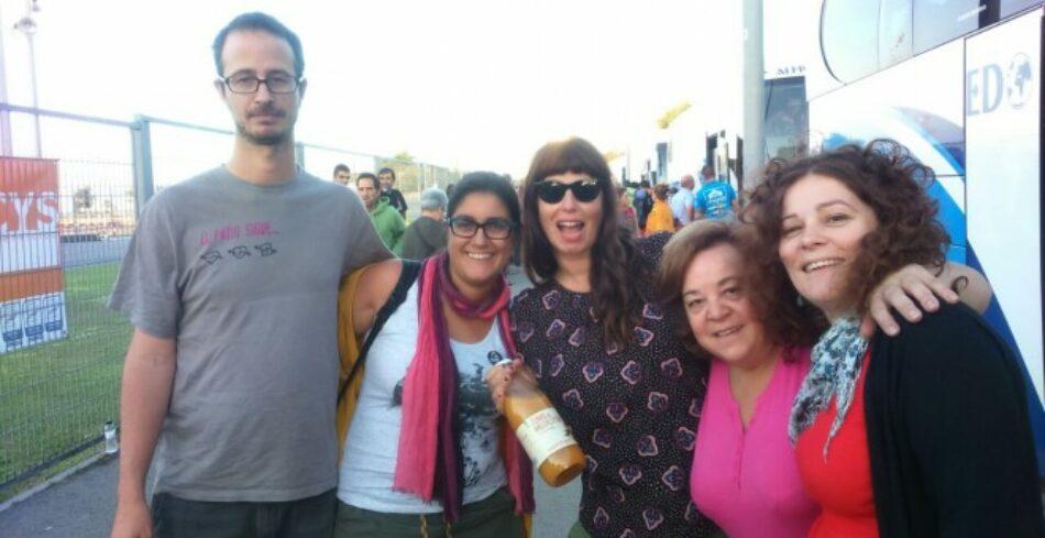 Ahora Madrid muestra su apoyo a la «Caravana a Grecia»