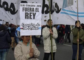 Repudian la presencia del Borbón Juan Carlos en el 200 aniversario de la Independencia argentina
