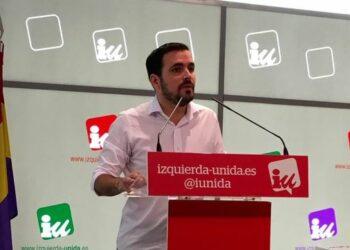 Garzón: «Necesitamos recuperar la movilización social como elemento estratégico de futuro»