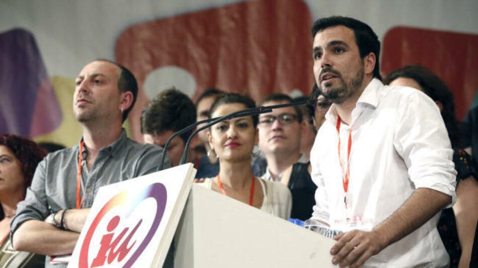 IU celebra su primera Asamblea Político y Social tras las elecciones del 26J