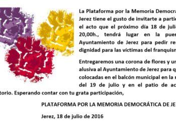 A 80 años vista del golpe de Franco los muertos de Jerez siguen en las cunetas