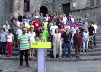 La CUP insisteix en la necessitat de celebrar una cimera per afrontar l'ofensiva antidemocràtica de l'estat espanyol