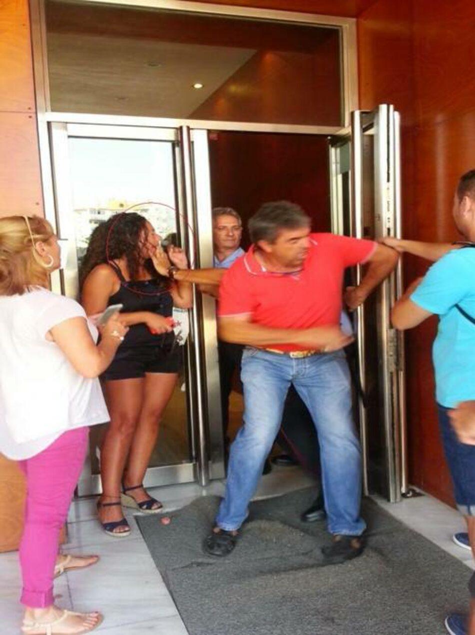 CGT: «Matones de Ilunion (ONCE) agreden a sindicalista del Comité de Empresa del 061 de Málaga»