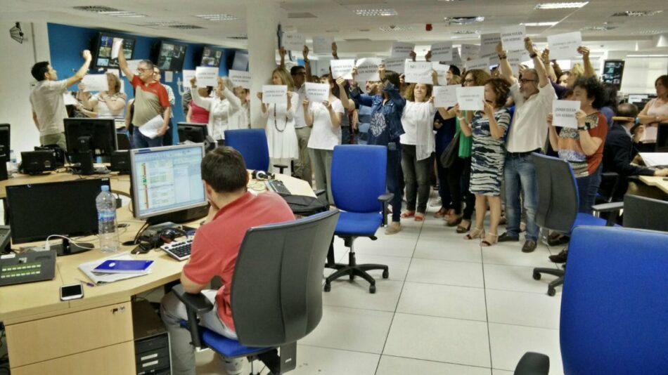 El CdI exige la dimisión inmediata de la Dirección de los servicios informativos y del Director de TVE