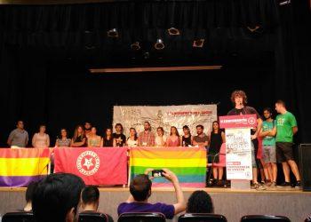 Miguel Montero, 18 años, elegido máximo dirigente de las Juventudes Comunistas de Madrid