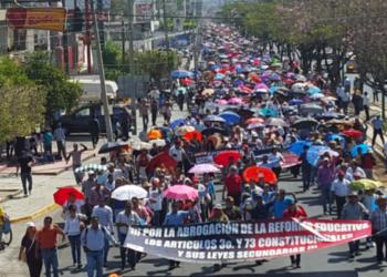 CNTE en Chiapas se encuentra en alerta ante posible arremetida del gobierno federal