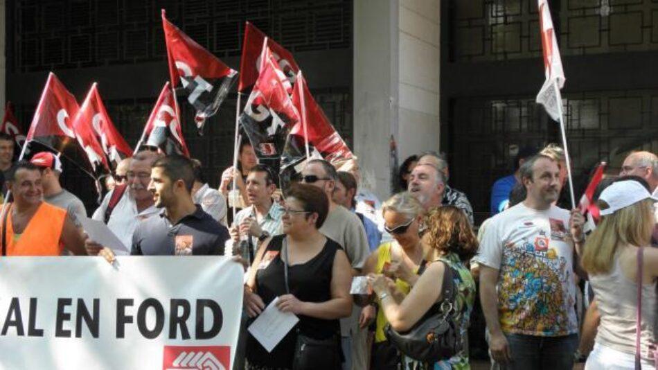 Ford es obligada a indemnizar a CGT tras vulnerar por enésima vez su derecho a la libertad sindical