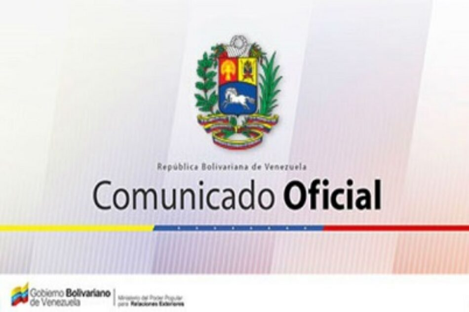 Venezuela rechaza aviso de viaje emitido por EEUU