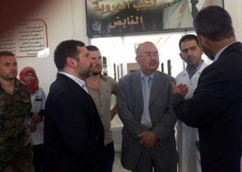 Javier Couso se reúne en Damasco con el Gobierno e instituciones sirias para analizar vías para la paz