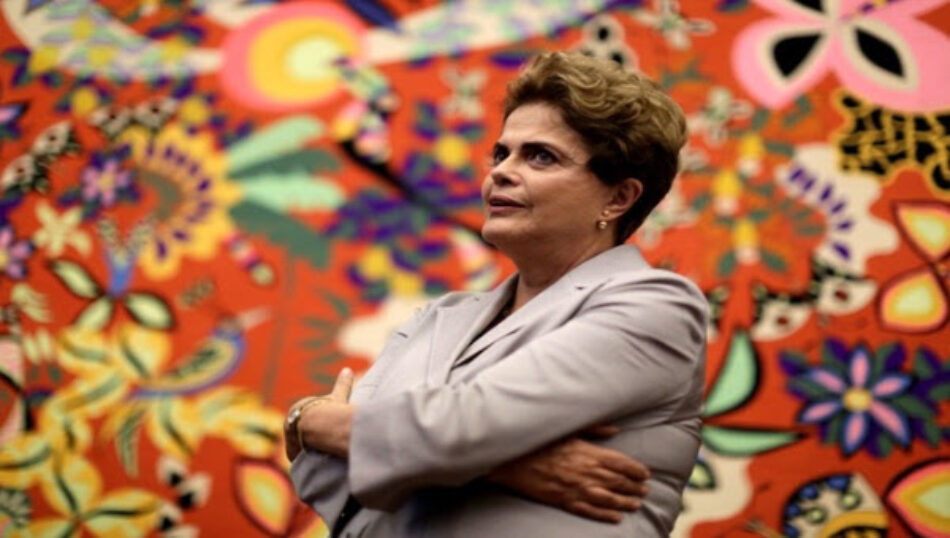 Presidenta Rousseff: 'Temer es un traidor y un usurpador'