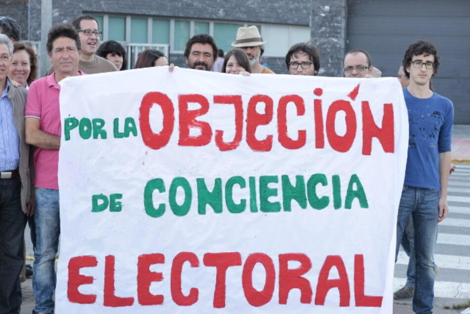 La sentencia contra el objetor electoral Adrián Vaíllo ya es firme