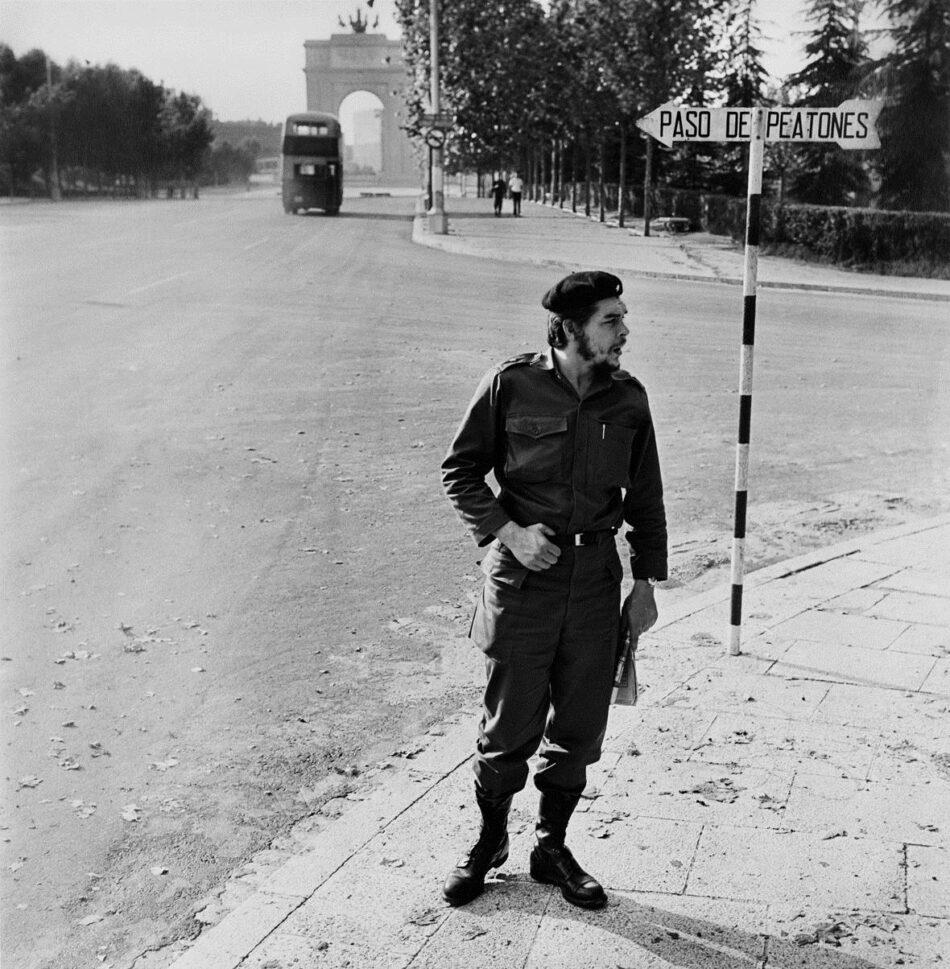 """Ernesto """"Che» Guevara en Madrid"""