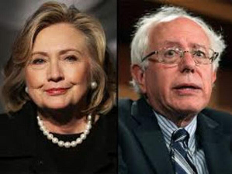 Clinton y Sanders van por unidad de los demócratas